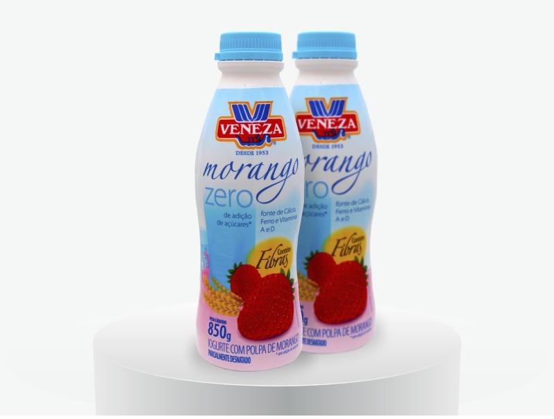Iogurte Sabor Morango Zero (850g)
