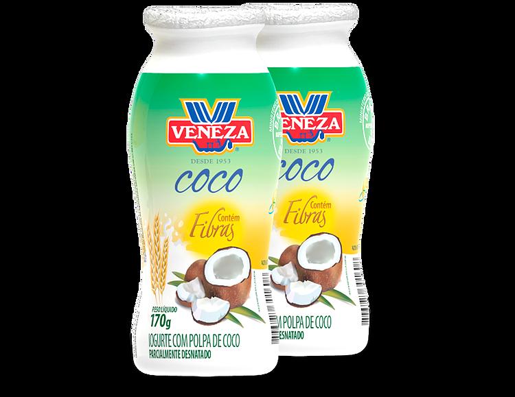 Iogurte com polpa de coco (170g)