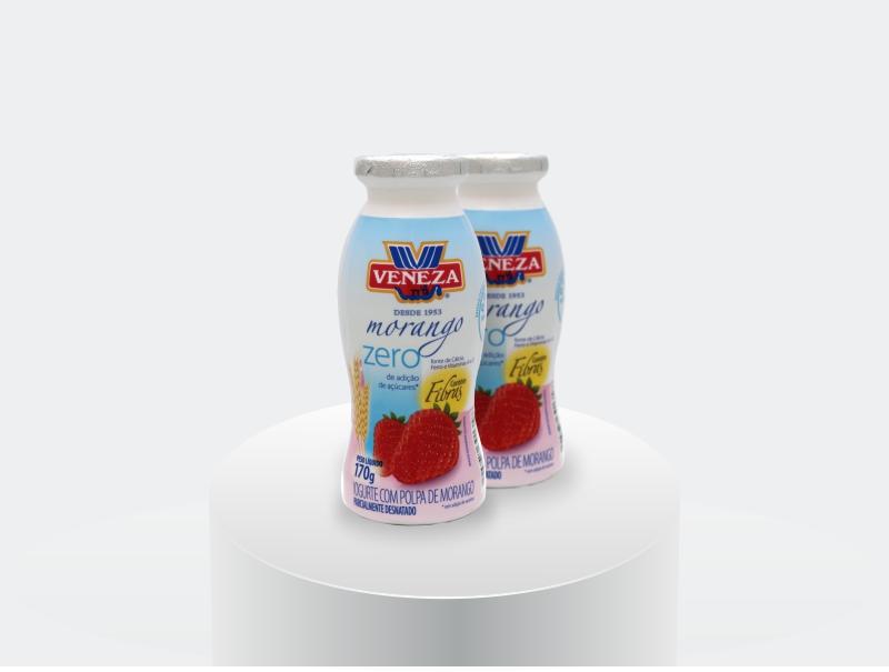 Iogurte Sabor Morango Zero (170g)