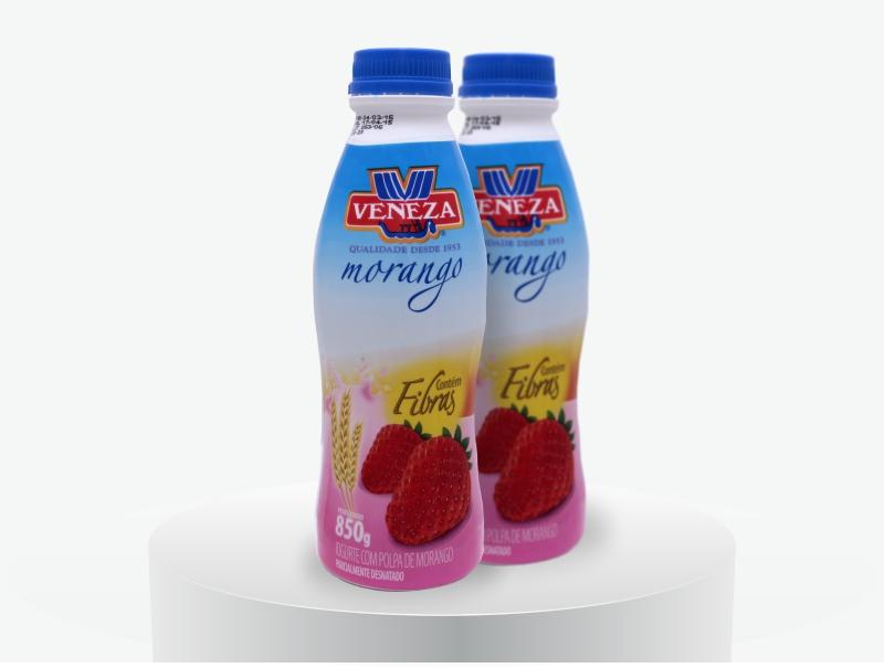 Iogurte Sabor Morango (850g)