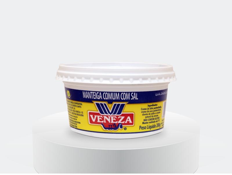 Manteiga comum com Sal (200g)