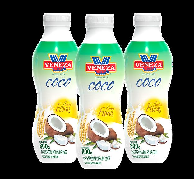 Iogurte com Polpa de Coco (800g)